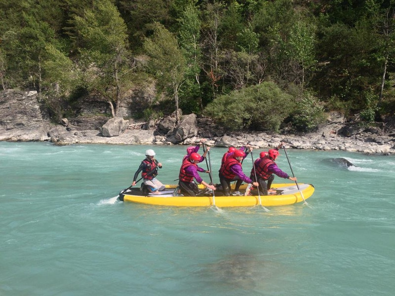paddle xl en riviere Embrun