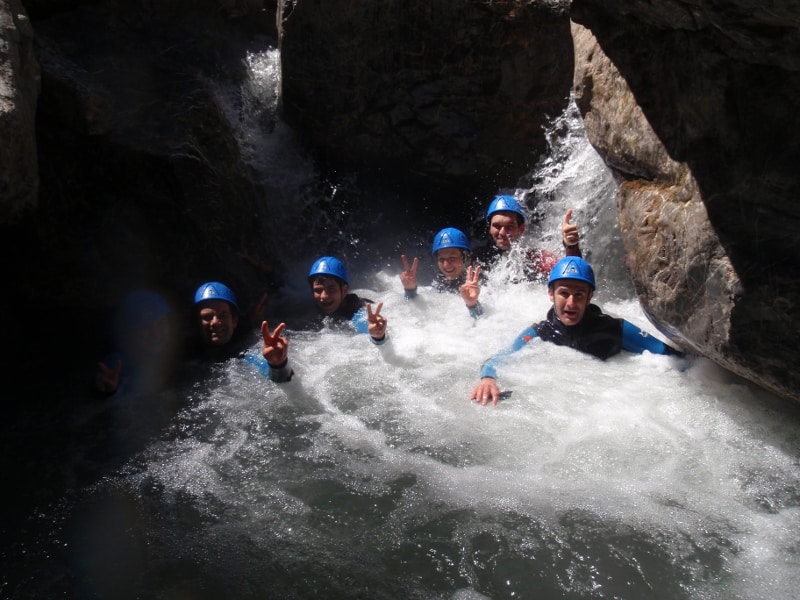 canyon pour les aquatiques sur le Fournel dans les Ecrins
