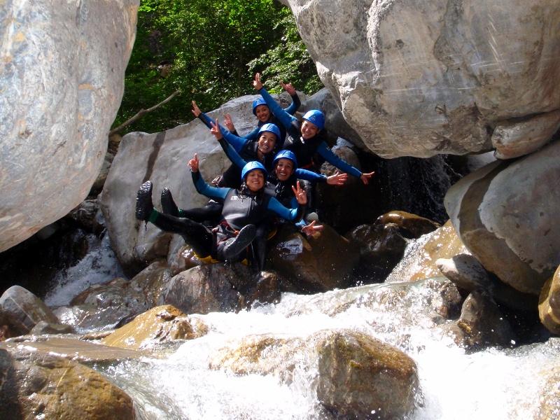 canyoning pour les aventuriers dans les Ecrins