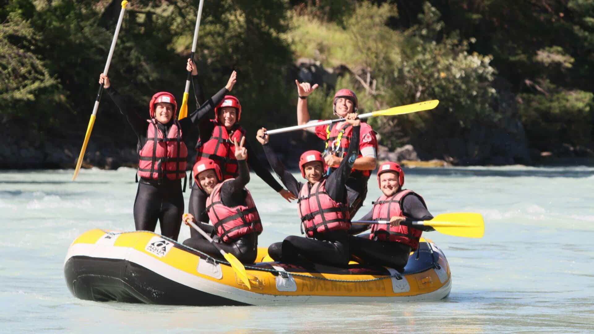Rafting sur la Durance - Rabioux - Embrun du fun seul ou en équipe